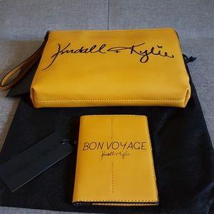 Kendall + Kylie Wrislet Pouch + Passport Wallet